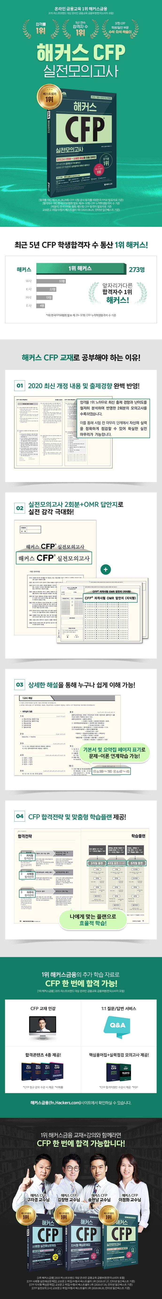 해커스 CFP 실전모의고사(개정판) 도서 상세이미지