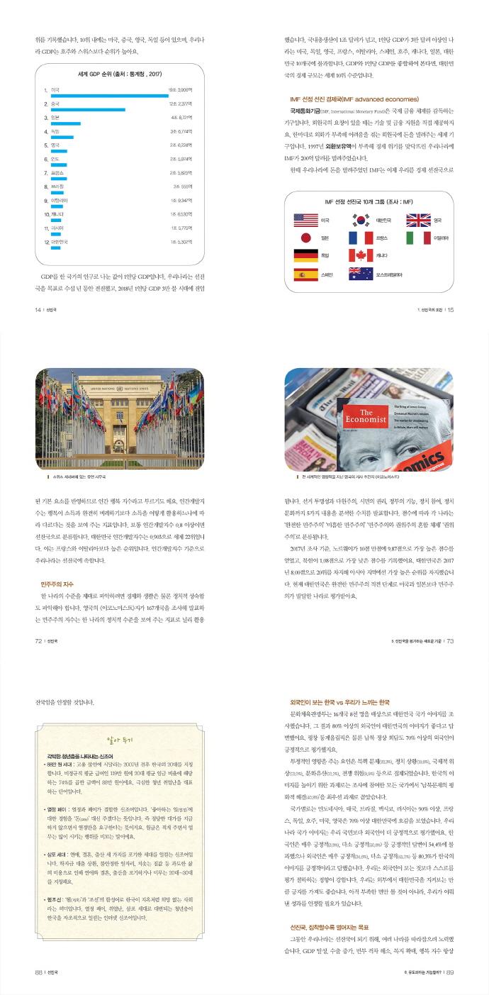세상에 대하여 우리가 더 잘 알아야 할 교양. 72: 선진국, 대한민국은 선진국일까?(디베이트 월드 이슈 시? 도서 상세이미지