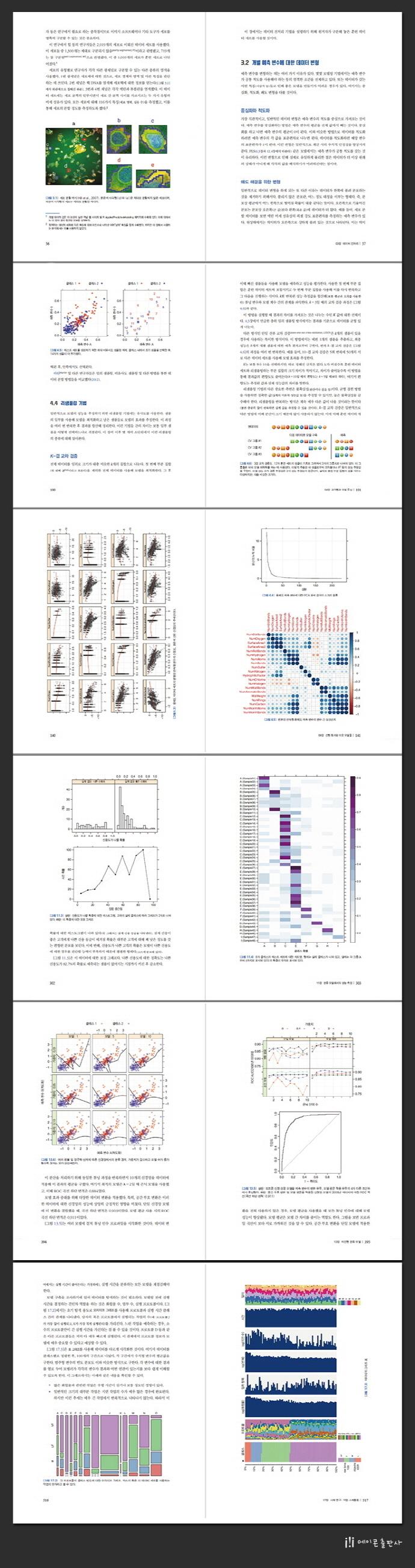 실전 예측 분석 모델링(Applied Predictive Modeling)(acorn ADVANCED)(양장본 HardCover) 도서 상세이미지