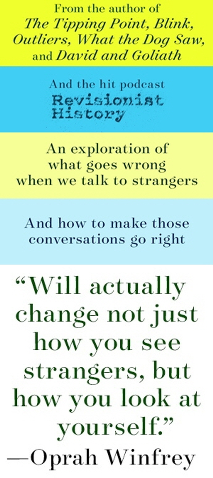 Talking to Strangers 도서 상세이미지