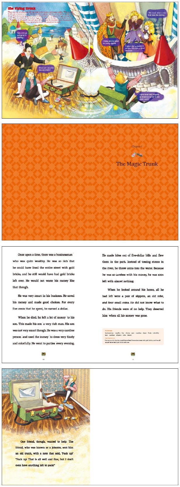 The Flying Trunk(하늘을 나는 가방)(MP3CD1장포함)(Little Storyteller 17) 도서 상세이미지