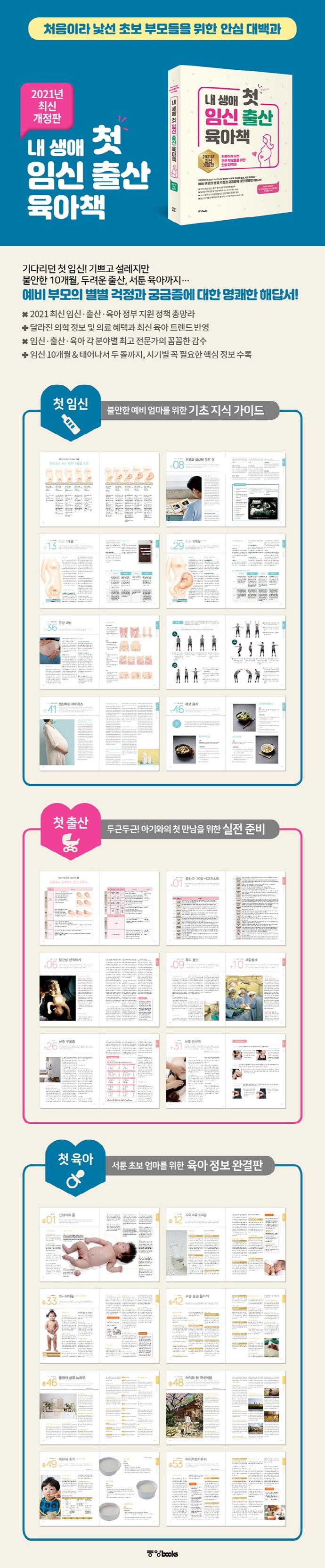 내 생애 첫 임신 출산 육아책(2020) 도서 상세이미지