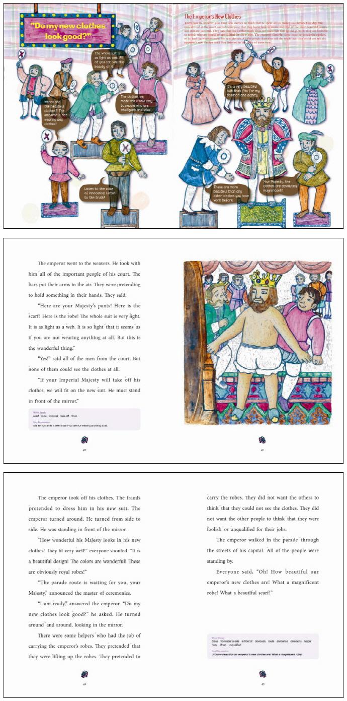 The Emperor's New Clothes(벌거벗은 임금님)(CD1장포함)(Little Storyteller 19) 도서 상세이미지