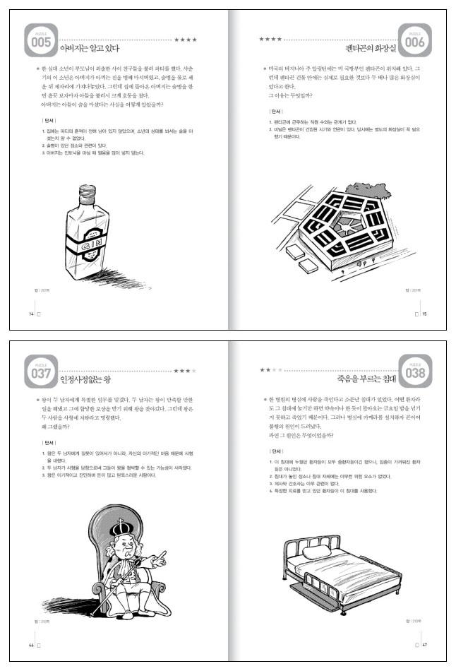 멘사 추리퍼즐 프리미어(IQ 148을 위한)(IQ 148을 위한 멘사 퍼즐) 도서 상세이미지