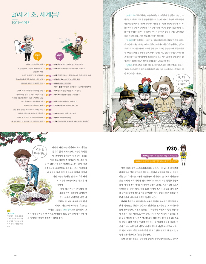 빵빵 터지는 20세기 세계사+한국사(1318교양문고) 도서 상세이미지