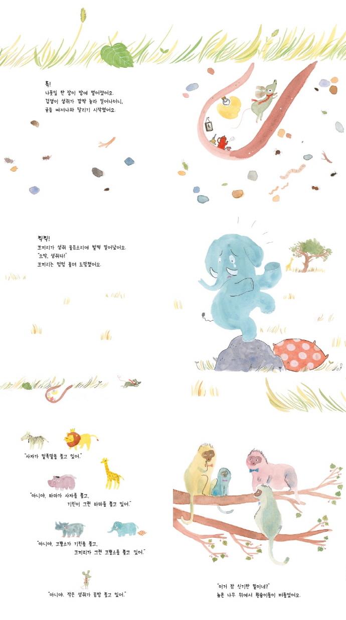 가장 무서운 생쥐(춤추는 카멜레온)(양장본 HardCover) 도서 상세이미지
