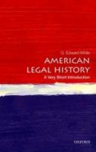 [해외]American Legal History