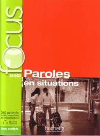 Paroles En Situations - Livre + CD (French Edition)