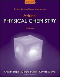 Students Solutions Manual to Accompany Physical Chemistry
