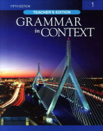 GRAMMAR IN CONTEXT. 1(TEACHER S EDITION)(FIFTH EDITION)