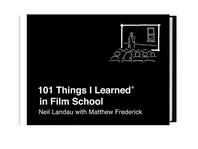 [해외]101 Things I Learned(r) in Film School (Hardcover)