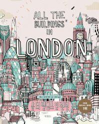 올 더 빌딩스 인 런던(도시 여행 컬러링북 시리즈 영국)(양장본 HardCover)