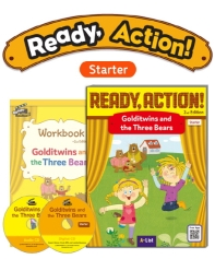 Pack-Ready Action 2E (Starter): Golditwins and the Three Bears[SB+WB+CD](CD2장포함)(전2권)