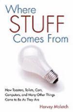 [해외]Where Stuff Comes from (Hardcover)