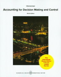 Accounting for Decision Making and Control (IE)