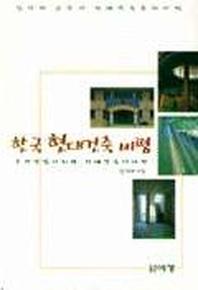 한국현대건축비평