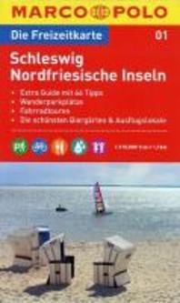 MARCO POLO Freizeitkarte 01 Schleswig / Nordfriesische Inseln 1 : 110 000