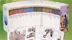 세계명작학습만화 빈센트 파고 세트(CD4장포함)(영한대역 세계명작만화)(전70권)