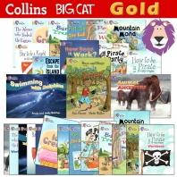 Collins Big Cat : Gold 28종 패키지(스토리북 14종 워크북 14종)