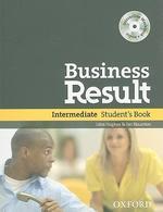 BUSINESS RESULT INTERMEDIATE STUDENT S BOOK(CD1장포함)