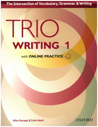 Trio Writing Level 1 Student Book with Online Practice