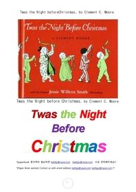 크리스마스 전날밤.Twas the Night beforeChristmas, by Clement C. Moore