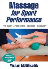 [해외]Massage for Sport Performance [With DVD]