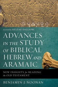 [해외]Advances in the Study of Biblical Hebrew and Aramaic