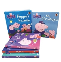 Peppa's Family (4 Board books)
