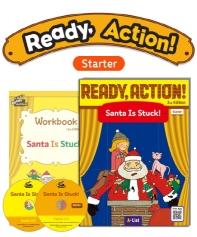 Pack-Ready Action 2E (Starter): Santa Is Stuck![SB+WB+CD](CD2장포함)(전2권)