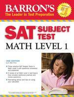 SAT SUBJECT TEST MATH LEVEL 1 (2008) (2ND EDITION)