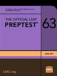 The Official LSAT Preptest 63