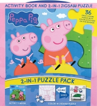 Peppa Pig 2-In-1 Puzzle Pack