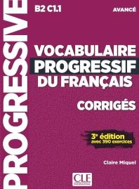 Vocabulaire Progressif Du Francais Corriges