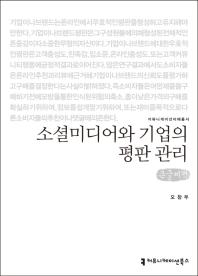소셜미디어와 기업의 평판 관리(큰글씨책)(커뮤니케이션이해총서)