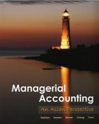 Managerial Accounting (Asia Global Edition)