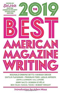 [해외]The Best American Magazine Writing 2019 (Paperback)