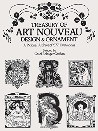 [해외]Treasury of Art Nouveau Design & Ornament