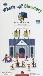 WHATS UP SHOWTORY: CONCERT HALL(왓츠업 쇼토리: 공연장)(3D팝업북)(팝업북)
