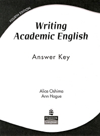 [해외]Writing Academic English