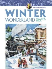 [해외]Creative Haven Winter Wonderland Coloring Book