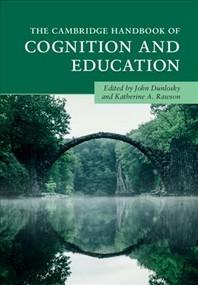 [해외]The Cambridge Handbook of Cognition and Education (Hardcover)