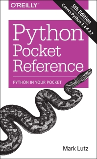 [해외]Python Pocket Reference