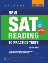 Hackers New SAT Reading: 10 Practice Tests