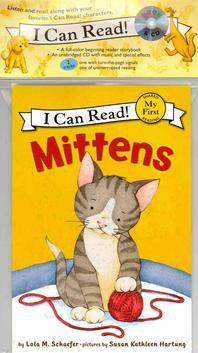 [해외]Mittens Book and CD [With Paperback Book] (Compact Disk)