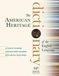[ELT/어학교재]The American Heritage Dictionary of the English Language