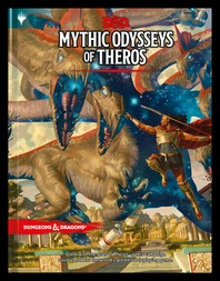 [해외]Dungeons & Dragons Mythic Odysseys of Theros (D&d Campaign Setting and Adventure Book)
