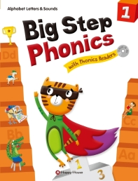 Big Step Phonics with Phonics Readers. 1(SB+WB+Readers)(CD2장포함)