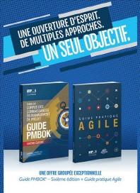 [해외]A Guide to the Project Management Body of Knowledge (Pmbok(r) Guide-Sixth Edition / Agile Practice Guide Bundle (French) (Paperback)
