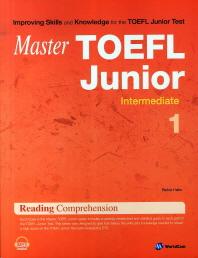 Master TOEFL Junior Reading Comprehension Intermediate. 1(Master)
